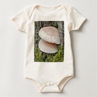 Mushroom Pair Baby Bodysuit