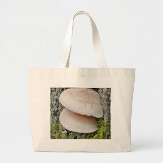 Mushroom Pair Large Tote Bag