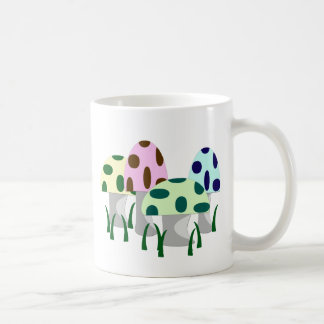 Mushroom Patch Classic White Coffee Mug