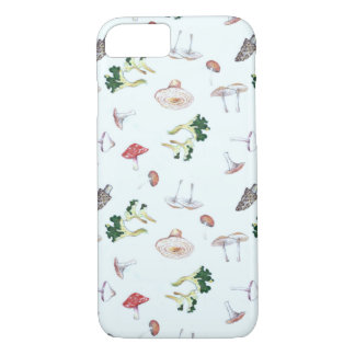 Mushroom Pattern iPhone 7 case