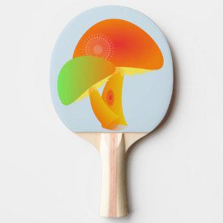 mushroom ping pong paddle