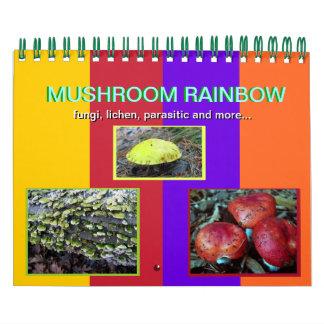 Mushroom Rainbow 2012 calendar
