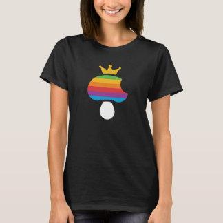 Mushroom retro Apple logo T-Shirt