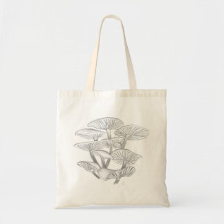 Mushroom Samtfußrübling design Tote Bag