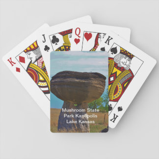 Mushroom State Park Kanopolis Lake PLAYING CARD'S Poker Deck