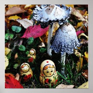 Mushroom voyage poster