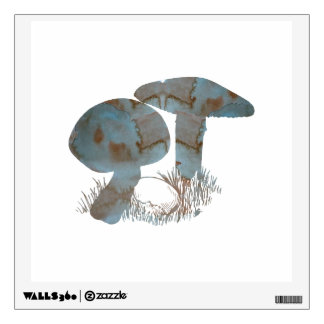 Mushroom Wall Decal