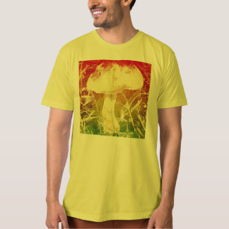 Mushroom Watercolor Men's T Shirt