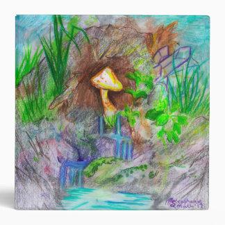 Mushroom Waterfall Binder