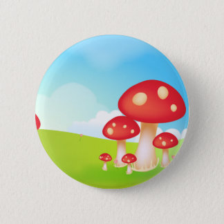 Mushrooms 2 Inch Round Button