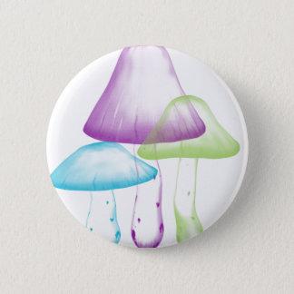 Mushrooms 2 Inch Round Button
