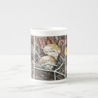 Mushrooms 3 tea cup