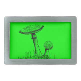 Mushrooms and Toadstools art. Belt Buckle