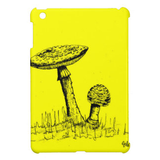 Mushrooms and Toadstools art. Cover For The iPad Mini