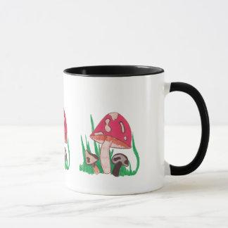 mushrooms big mug