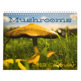 Mushrooms Calendar