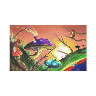Mushrooms Canvas Print