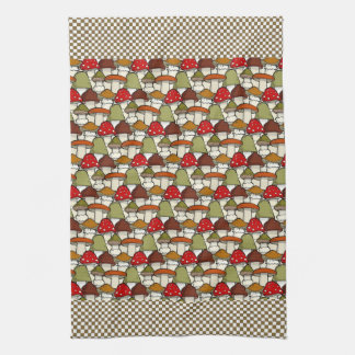 Mushrooms Design Kitchen Towel
