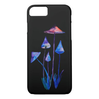 Mushrooms Drawing  Apple iPhone 8/7, Barely There iPhone 8/7 Case