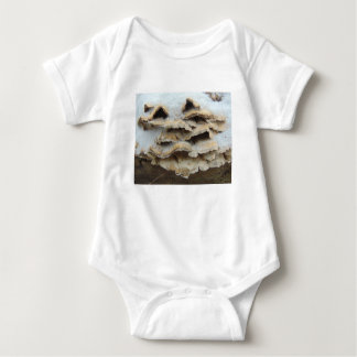 Mushrooms In Winter Baby Bodysuit