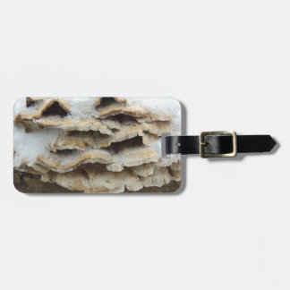 Mushrooms In Winter Luggage Tag