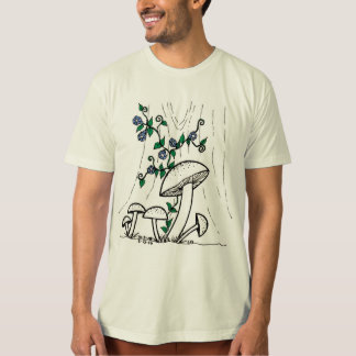 Mushrooms & Morning Glories shirt