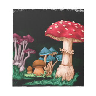 Mushrooms Notepad