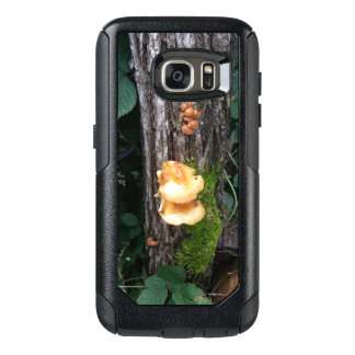 Mushrooms on a Log OtterBox Samsung Galaxy S7 Case