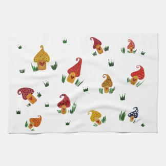Mushrooms Tea Towel 40.6 cm x 61 cm
