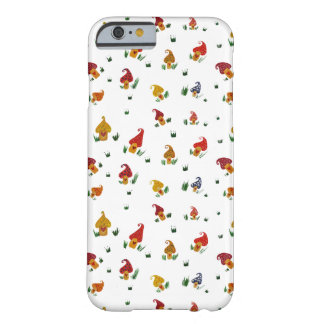 Mushrooms with hearts iPhone 6/6s, Barely There Barely There iPhone 6 Case