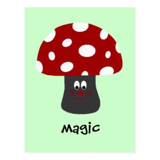 Mushroon Magic Postcard