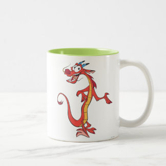 Mushu 2 Two-Tone coffee mug