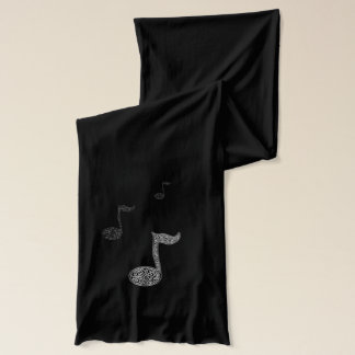 musi note scarf