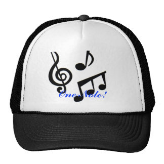 music%20notes, One Note! Trucker Hat