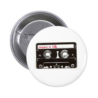 music 2 inch round button