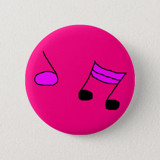 MUSIC 2 INCH ROUND BUTTON