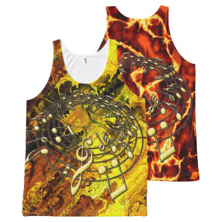 Music 3A Options All-Over-Print Tank Top