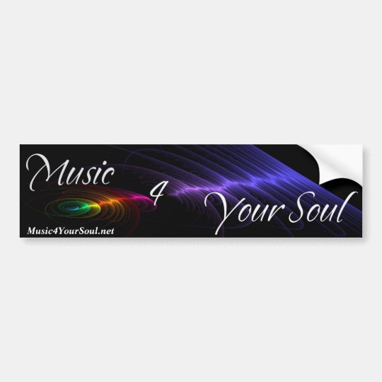 Music 4 Your Soul Bumper Sticker