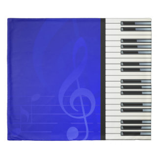 Music 6 duvet cover