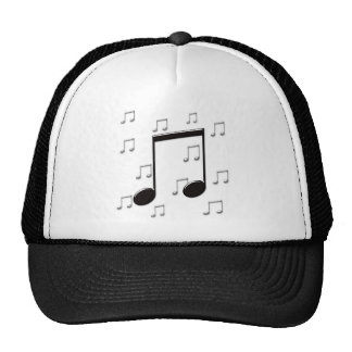 Music 8th Eighth Notes Trucker Hat