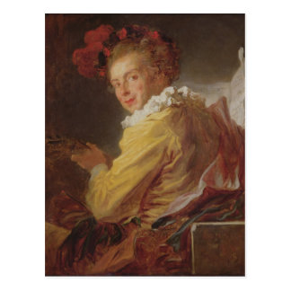 Music, a portrait of Monsieur de la Breteche Postcard