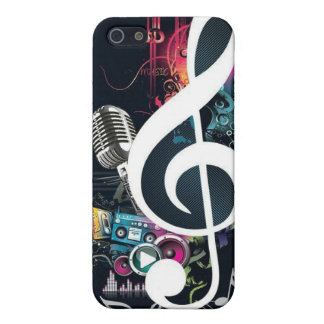Music Abstract Collage iPhone 5 Cases