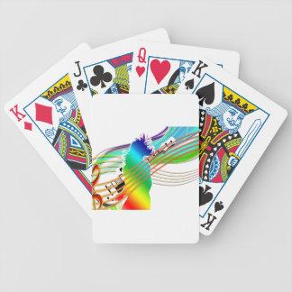 Music Addicted Poker Deck