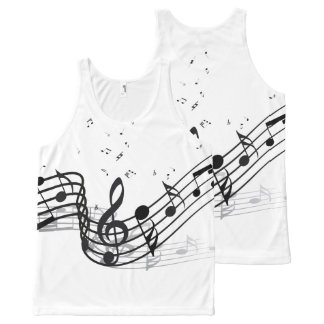 Music All-Over-Print Tank Top