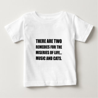Music And Cats Baby T-Shirt