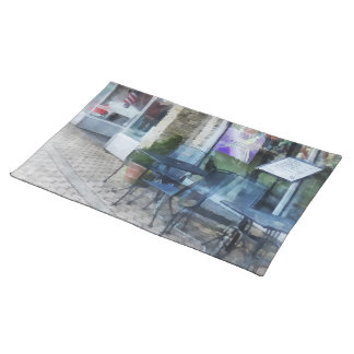 Music And Coffee Cafe Place Mat