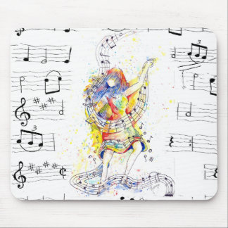 Music and Dance - Mouse pad