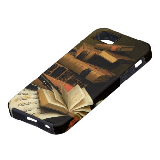 Music and Literature by William Harnett iPhone 5 Cases
