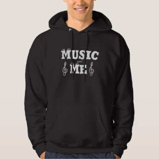 Music and me hoodie