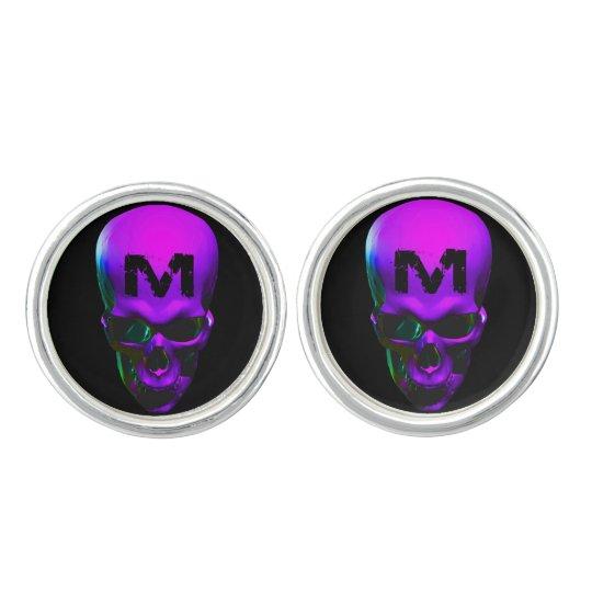 Music and Monsters logo cufflinks